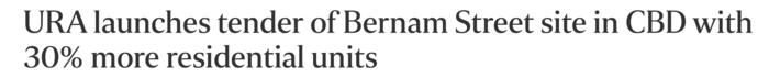 URA-launches-tender-of-Bernam-Street-site-in-CBD-with-30-more-reisdential-units
