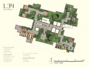 One-Bernam-Site-Plan-Level-34-Sky-Terrace