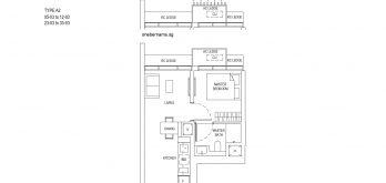 One-Bernam-Floorplan-Type-A2-441Sqft