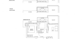 One-Bernam-Floorplan-Type-B3-700Sqft