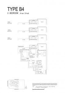 One-Bernam-Floorplan-Type-B4-700Sqft