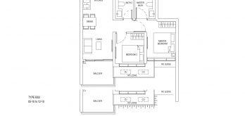 One-Bernam-Floorplan-Type-BS2-829Sqft