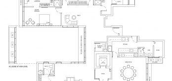 One-Bernam-Floorplan-Type-E1-4306Sqft