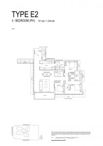 One-Bernam-Floorplan-Type-E2-1948Sqft